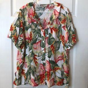 Hawaiian 🌺 blouse